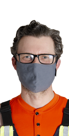 P07H05 - COMFORT WEAVE 7oz FR Dual Hazard Face Mask (10 PACK)