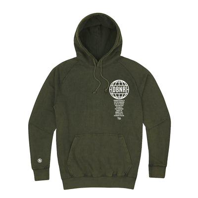 Florida Winter hoodie (palm green)