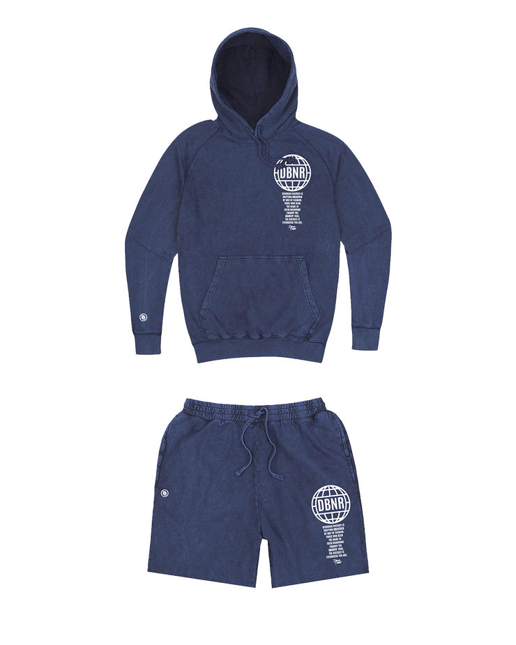 Florida Winter hoodie/short set