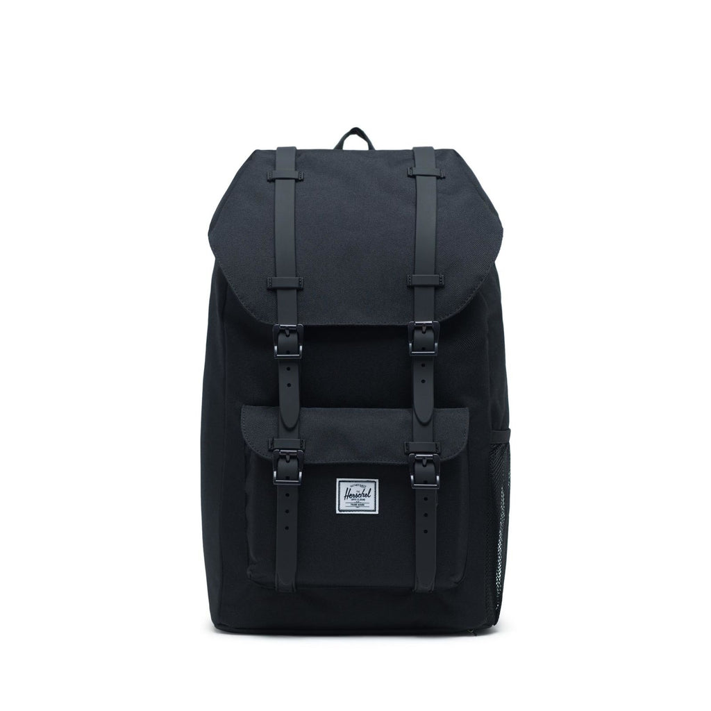 Herschel Little America Youth Rucksack 18 L Black/Black Rubber
