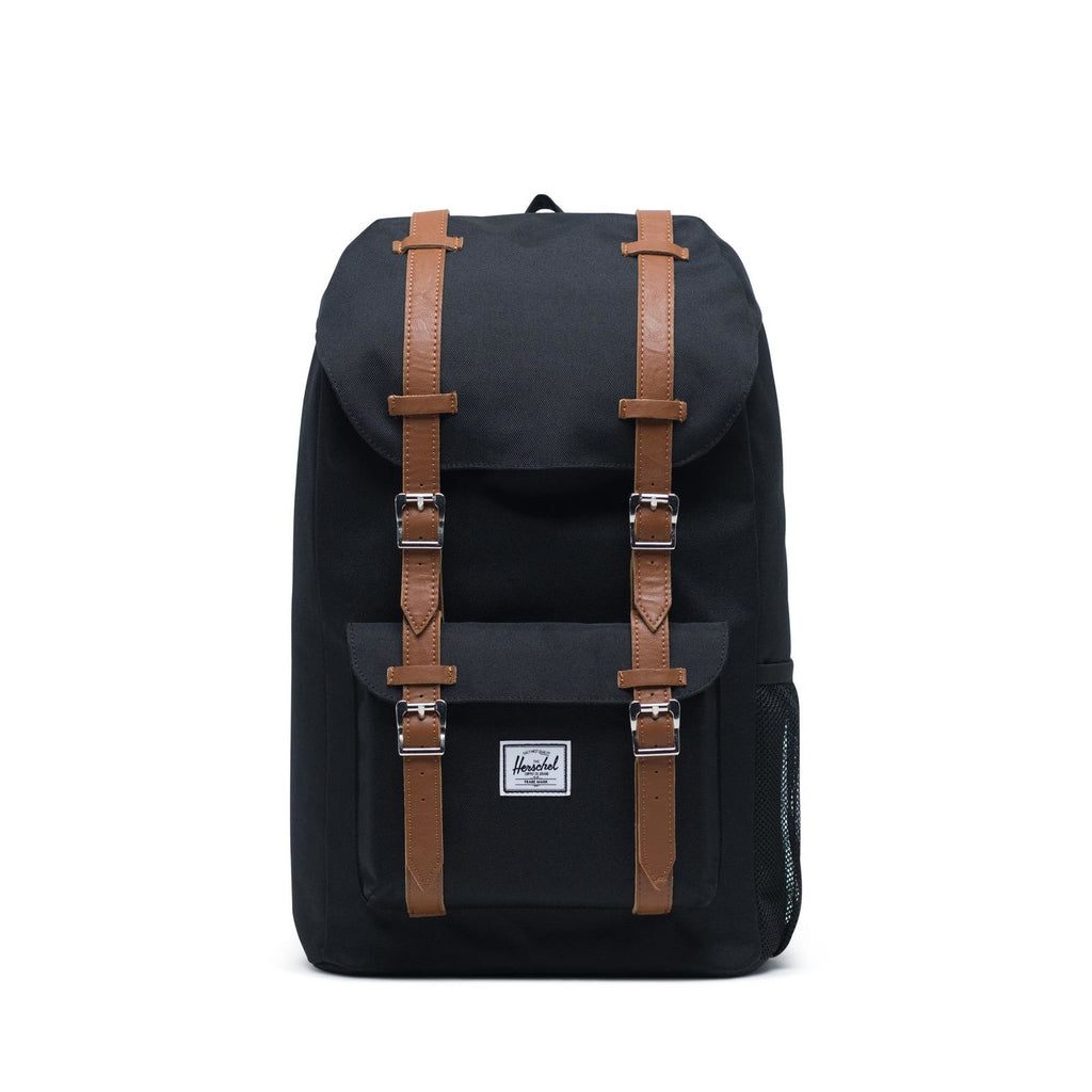 Herschel Little America Youth Rucksack 18 L Black/Saddle Brown