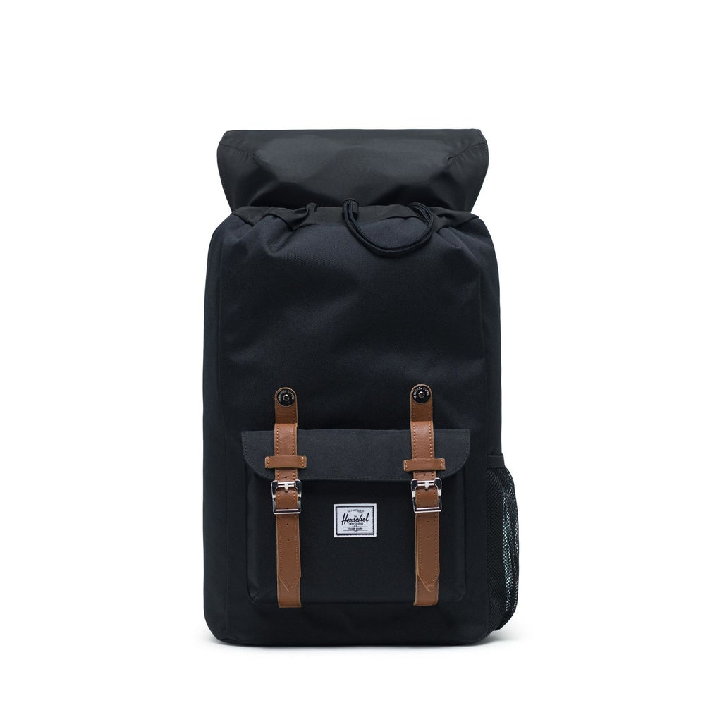 Herschel Little America Youth Rucksack Daypack Schulrucksack 18 L Black Saddle Brown