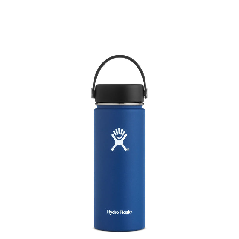 Hydro Flask Wide Mouth Trinkflasche 18 oz 532ml Cobalt