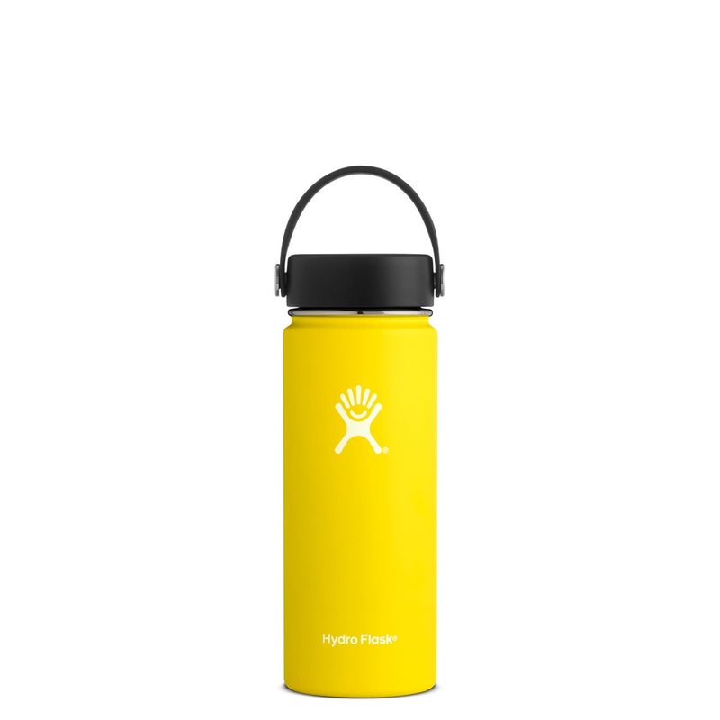 Hydro Flask Wide Mouth Trinkflasche 18 oz 532ml Gelb