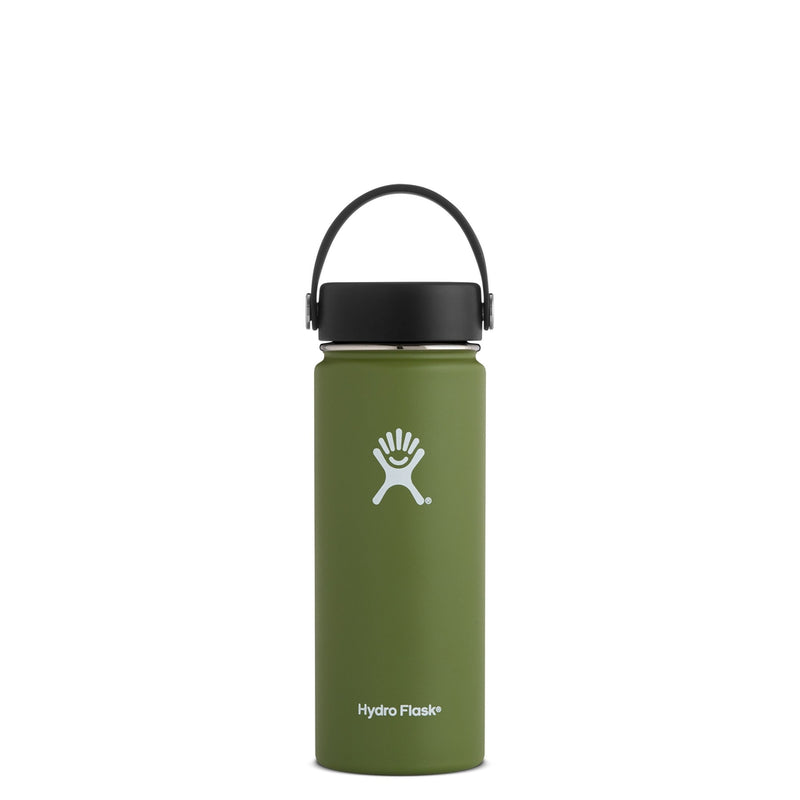 Hydro Flask Wide Mouth Trinkflasche 18 oz 532ml Olive
