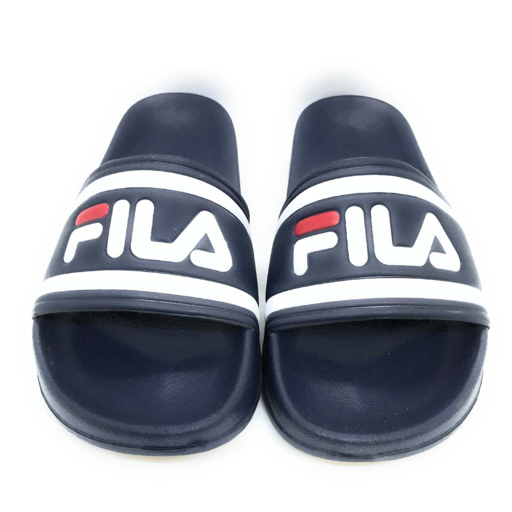 Fila Morro Bay Slipper Herren Sandalen Badeschlappen Dress Blue
