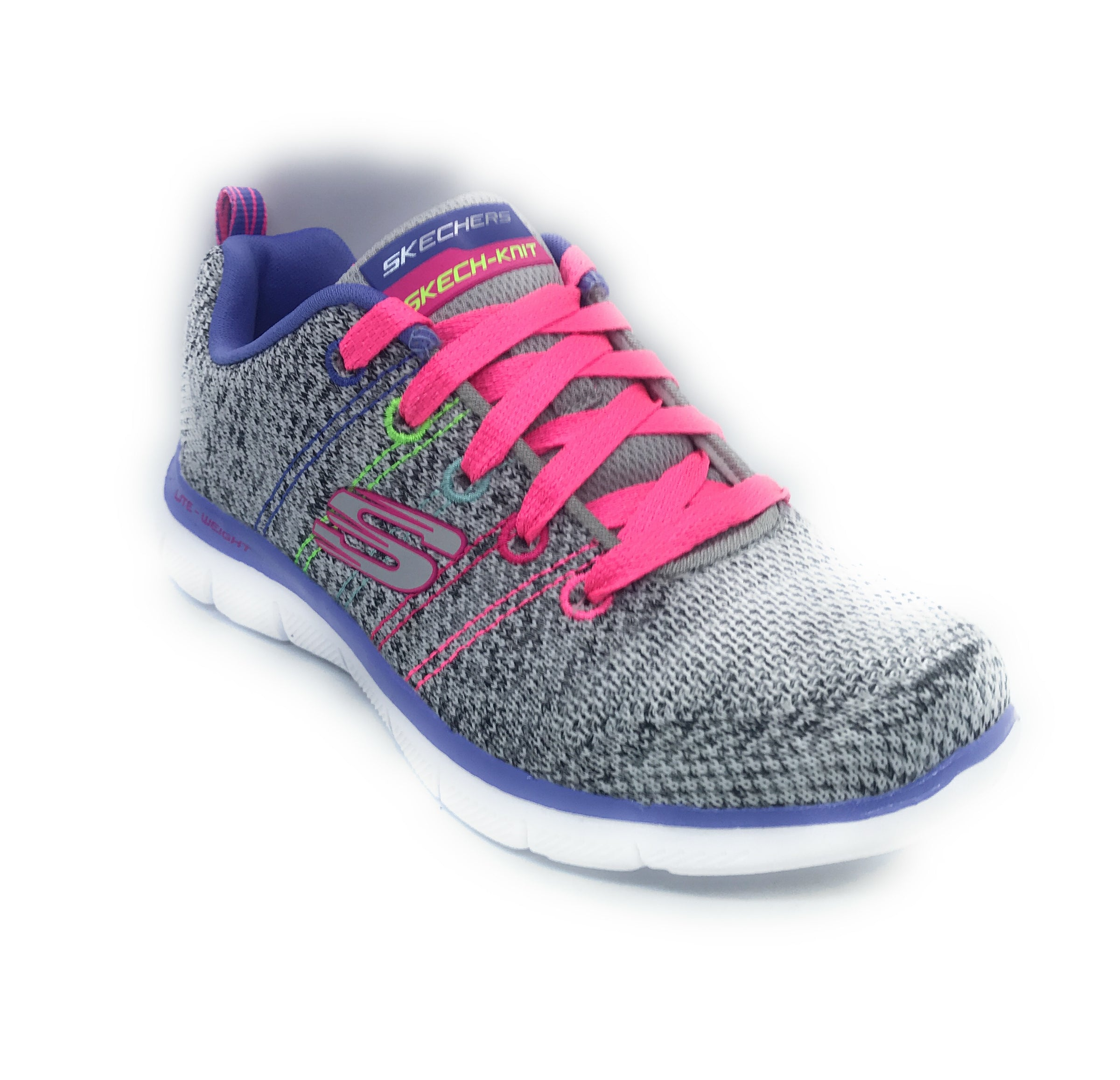 Skechers Skech Appeal 2.0 High Energy Kinder Turnschuhe Grey Multi