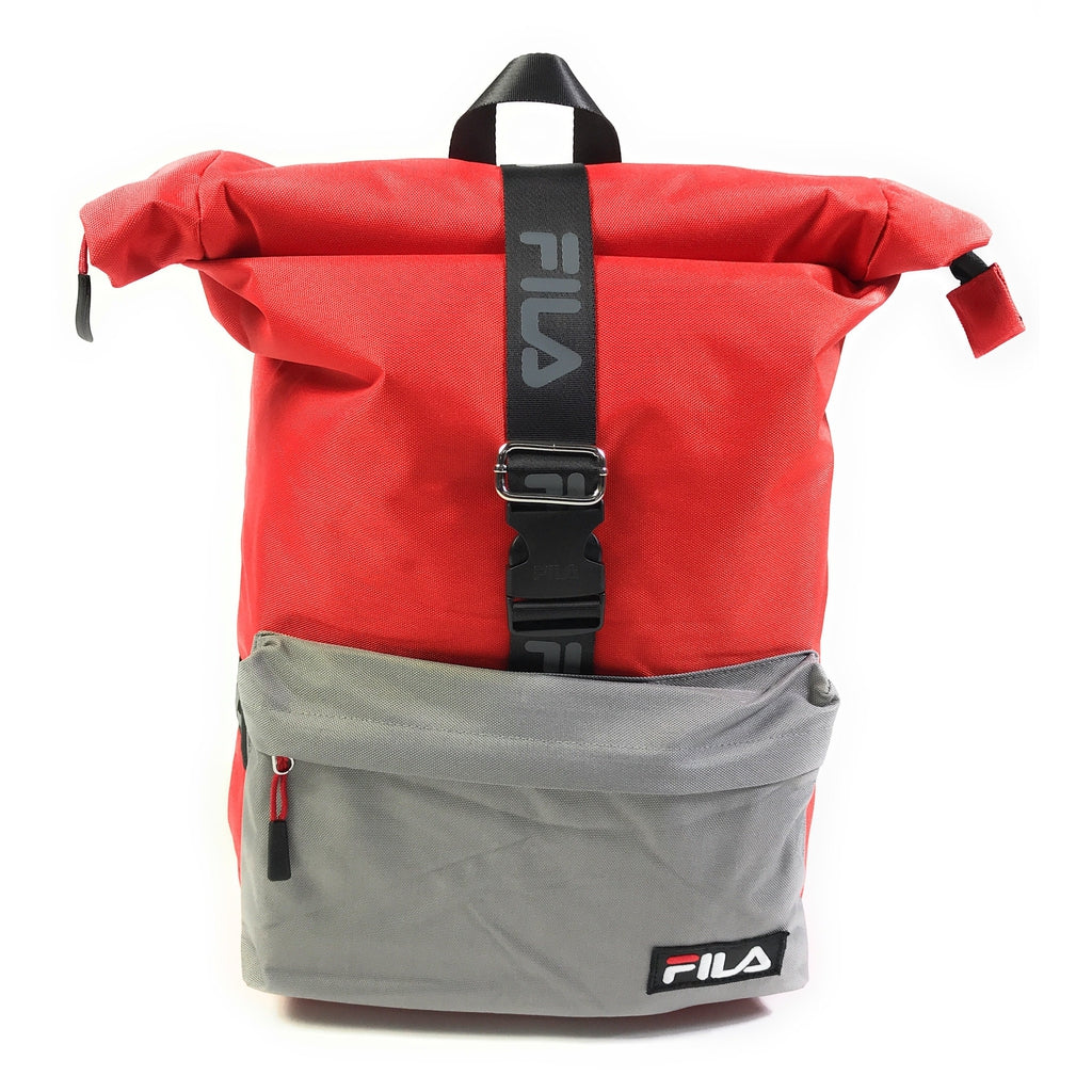 Fila Urban Line Örebo Rolltop Backpack Rucksack Daypack 18L Fiery Red-Black