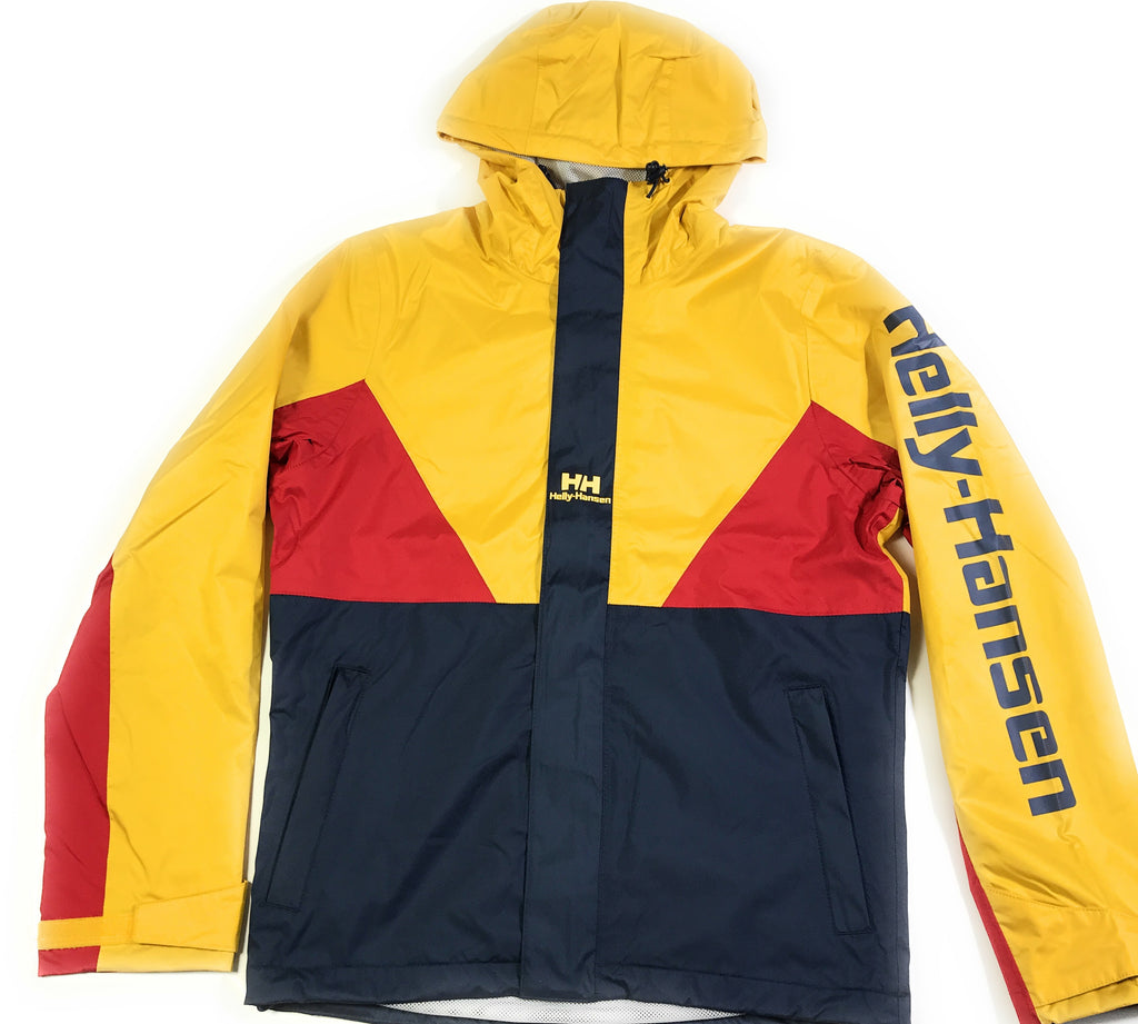 Helly Hansen Urban Windbreaker 2.0 Herrenjacke Anorak Navy & Yellow