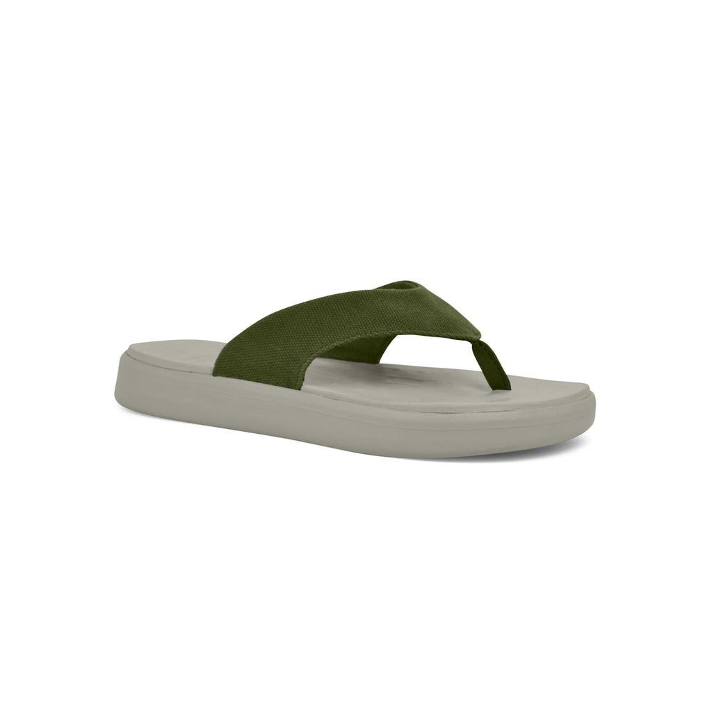 SoftScience The Skiff 3.0 Canvas Sandalen Sage Green