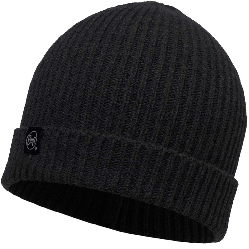 Buff Basic Strickmütze Wintermütze Beanie Black