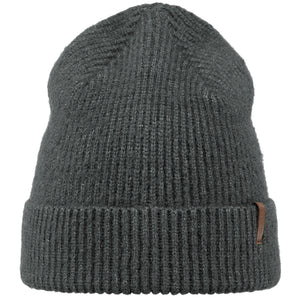 Barts Ray Beanie Strickmütze Wintermütze Beanie Dark Heather