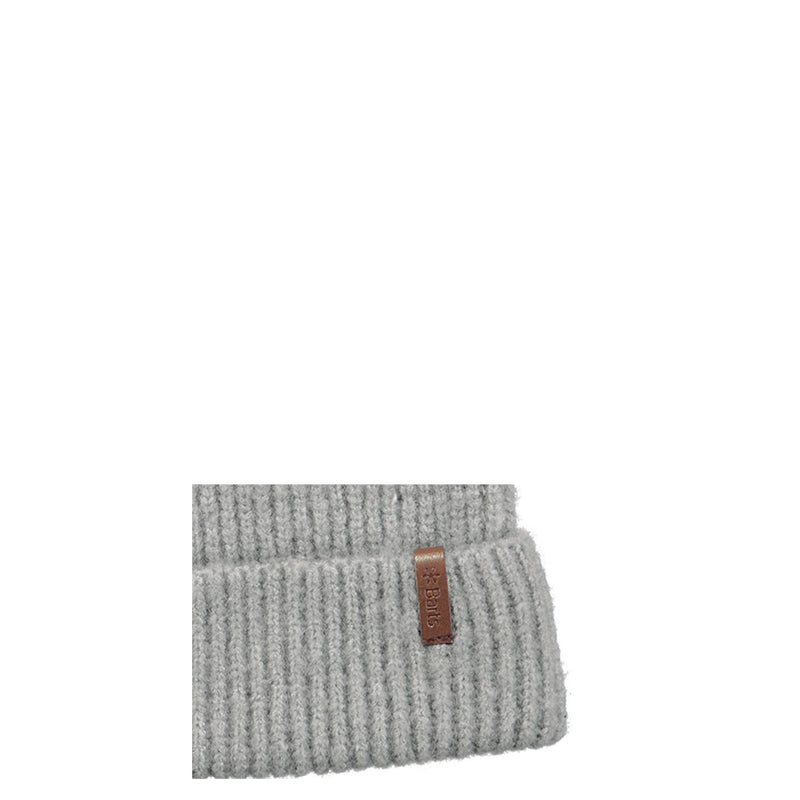 Barts Ray Beanie Strickmütze Wintermütze Beanie Heather Grey