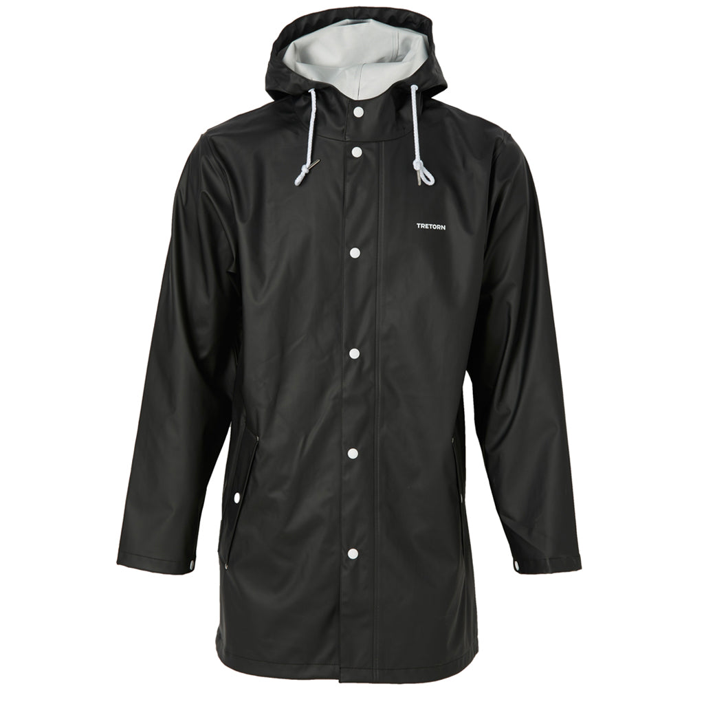 Tretorn Wings Regenjacke Rain Jacket Jet Black