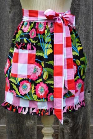Picnic in the Park Adult Half Apron