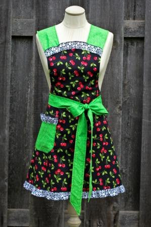 Cherry Adult Full Apron