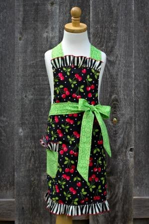 Cherry Child Apron