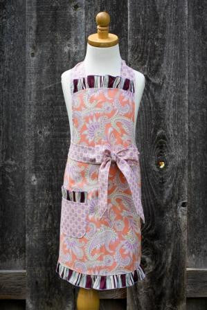 Forever Paisley Childrens Apron