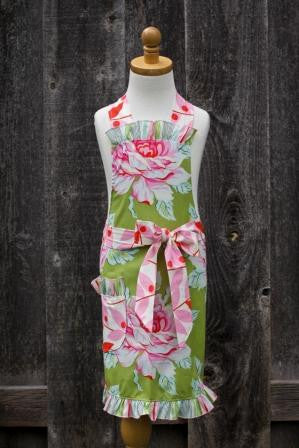 Tickled Pink Child Apron