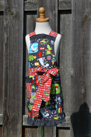 Santa Paws Child Full Apron