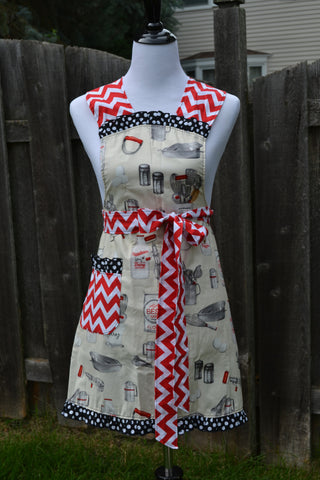 Grandma's Kitchen Adult Full Apron