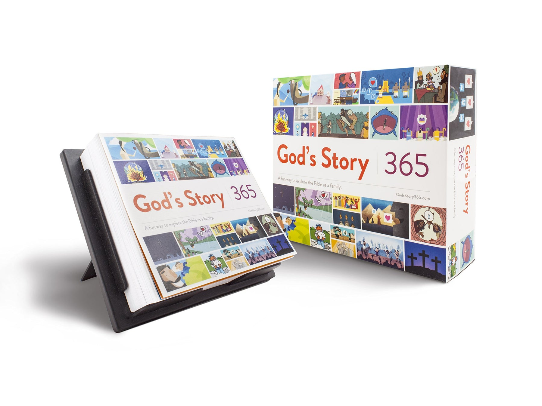 God's Story 365: A Fun Way to Explore the Bible as a Family