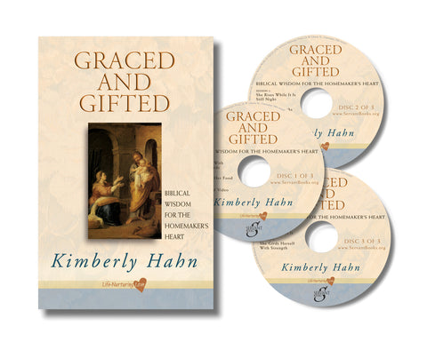 GRACED AND GIFTED: BIBLICAL WISDOM - Boxed Set, DVD's with book.