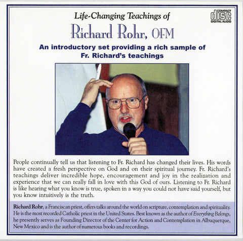 Life Changing Teachings of Richard Rohr, OFM audio book