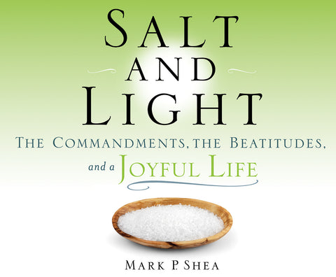 Salt and Light: The Commandments, the Beatitudes, and a Joyful Life audio book