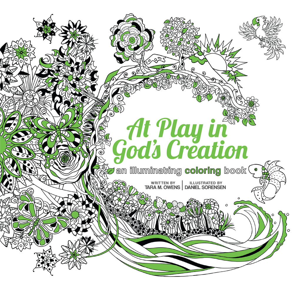 At Play in God's Creation: An Illuminating Coloring Book