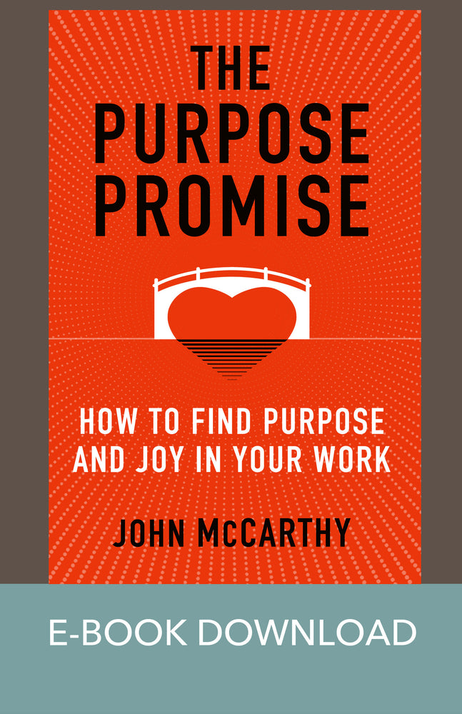 The Purpose Promise: How to Find Purpose and Joy in Your Work E-Book