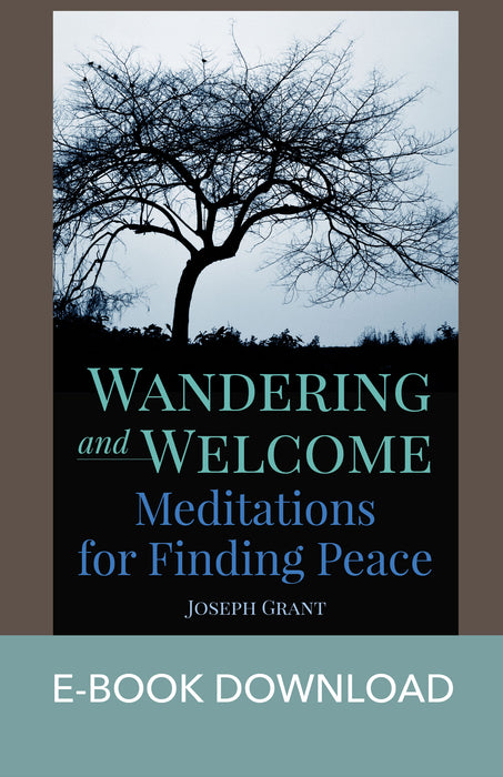 Wandering and Welcome: Meditations for Finding Peace E-Book