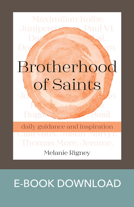 Brotherhood of Saints: Daily Guidance and Inspiration E-Book