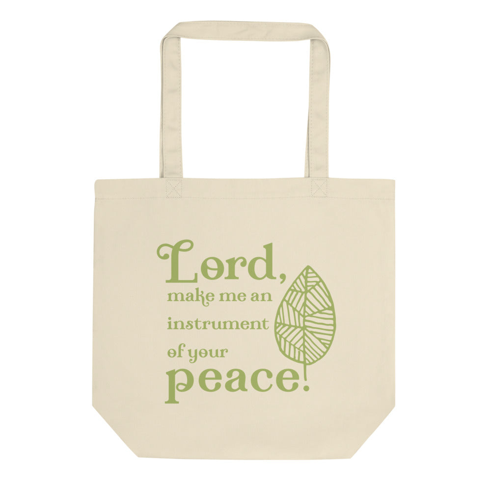 Tote Bag - Instrument of Your Peace