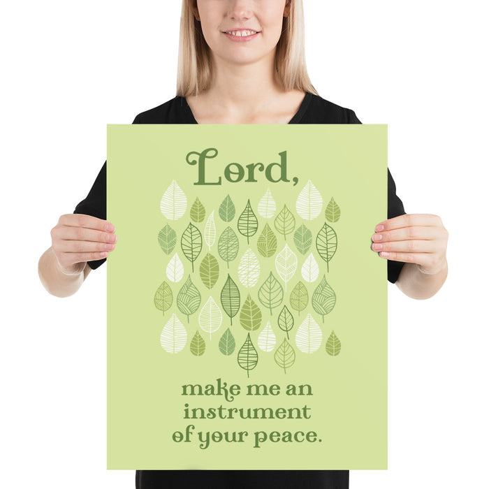 Art Print - Instrument of Your Peace