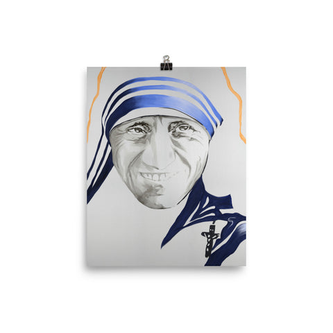 Mother Teresa Fine Art Print