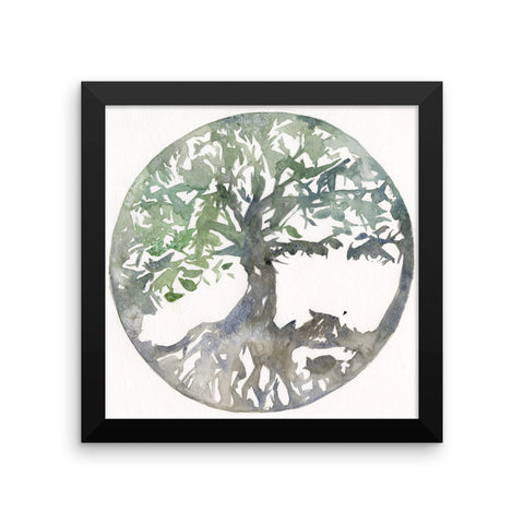 Tree of Life Framed Gloss Fine Art Print