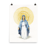 Blessed Mother Mary Fine Art
