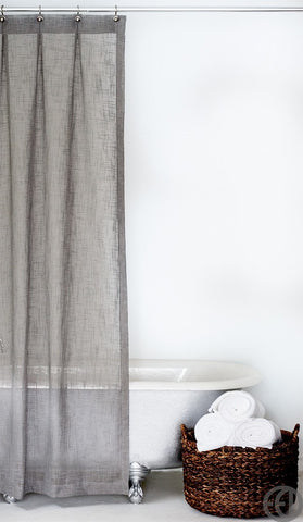 sold out extra long shower curtain in multiple colors