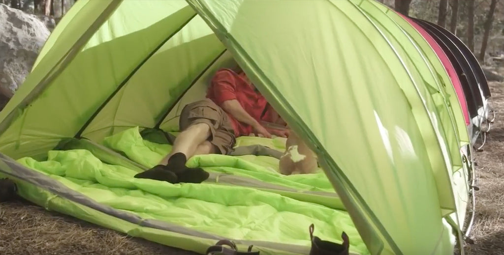 This super-tent replaces half your gear