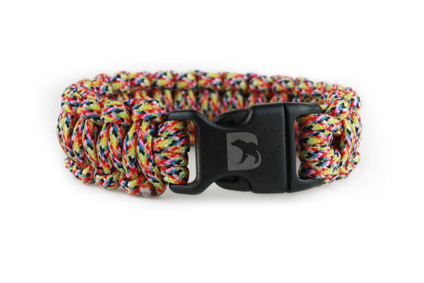Festival Paracord Bracelet - Bearbottom Clothing
