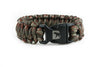 Green Camo Paracord Bracelet-Paracord Bracelet-Bearbottom Clothing