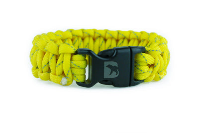 Reflective Yellow Paracord Bracelet - Bearbottom Clothing