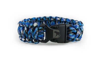 Ocean Camo Paracord Bracelet - Bearbottom Clothing