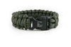 Reflective Army Green Paracord Bracelet-Paracord Bracelet-Bearbottom Clothing