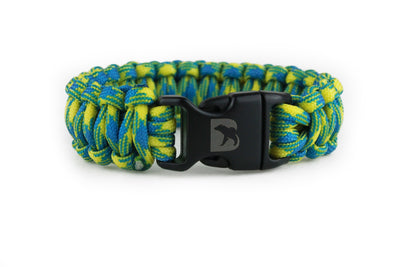 Tropical Paracord Bracelet - Bearbottom Clothing