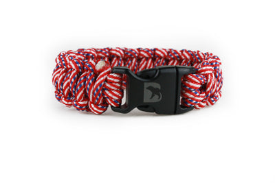 USA Flag Paracord Bracelet - Bearbottom Clothing