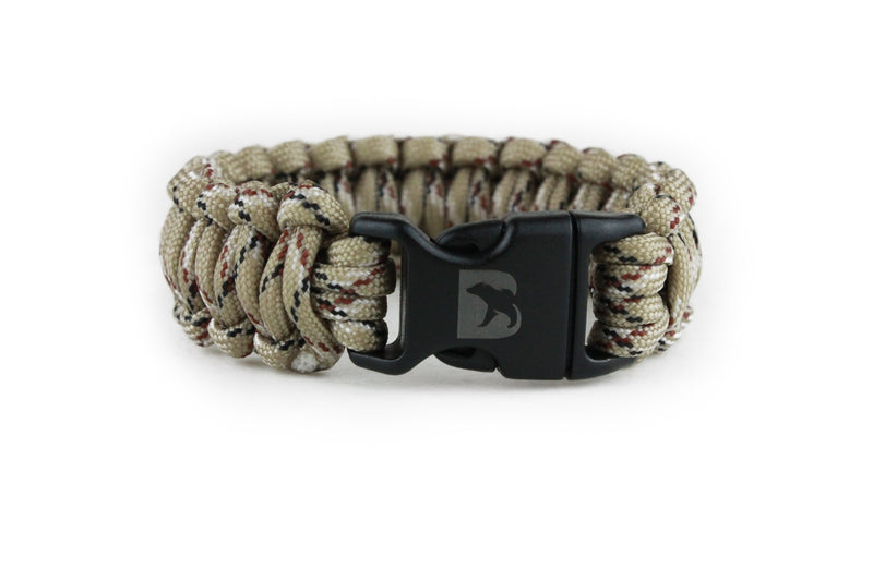 Desert Camo Paracord Bracelet - Bearbottom Clothing