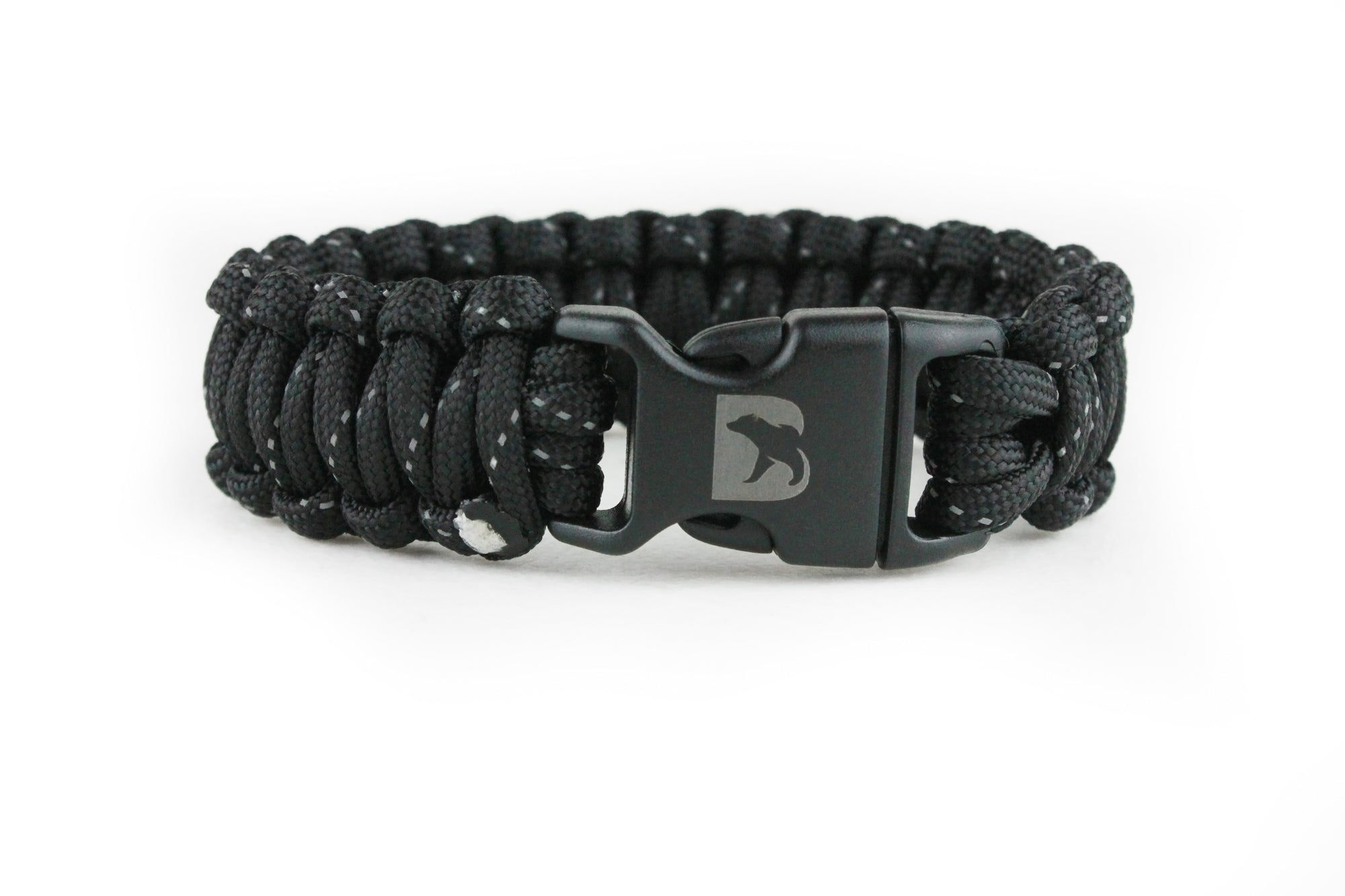 Reflective Black Paracord Bracelet