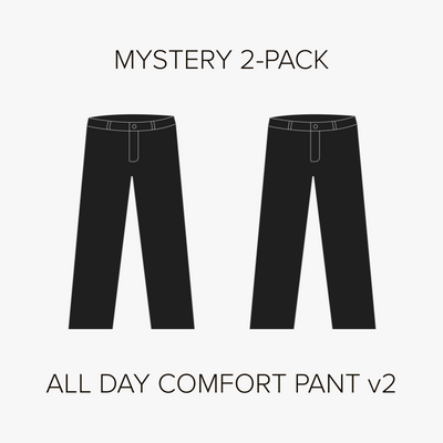All Day Comfort Pant v2 Mystery 2-Pack